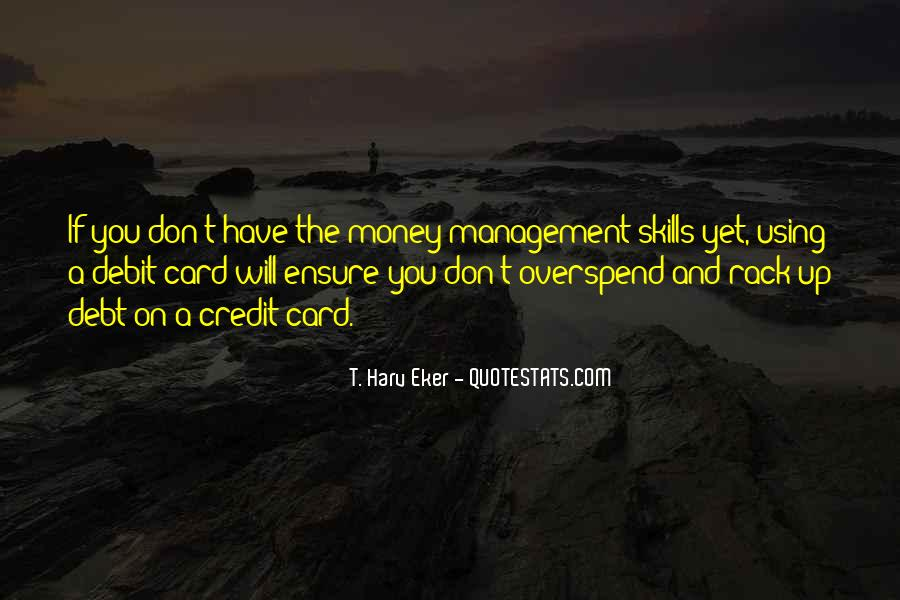 Quotes About Credit And Debt #1478802