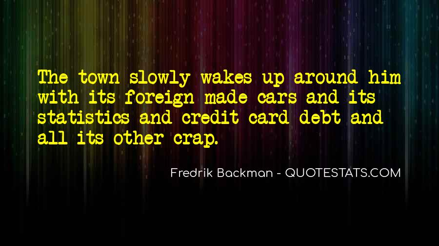 Quotes About Credit And Debt #1786282