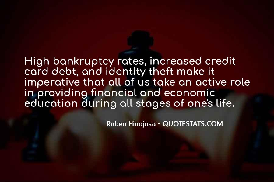 Quotes About Credit And Debt #217527