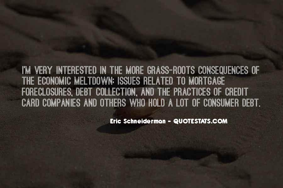 Quotes About Credit And Debt #226221