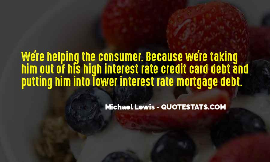 Quotes About Credit And Debt #227524