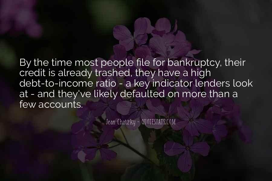 Quotes About Credit And Debt #392809