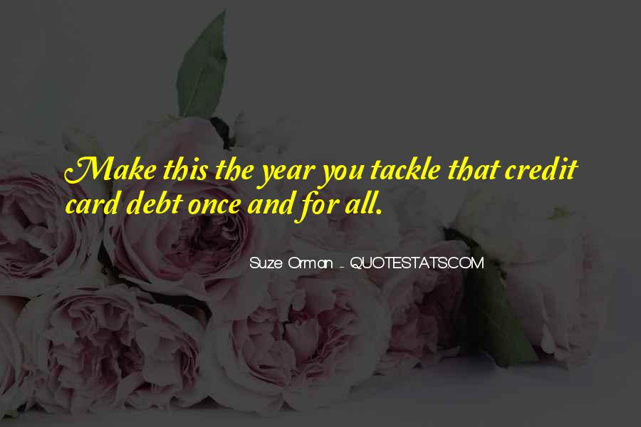 Quotes About Credit And Debt #497204