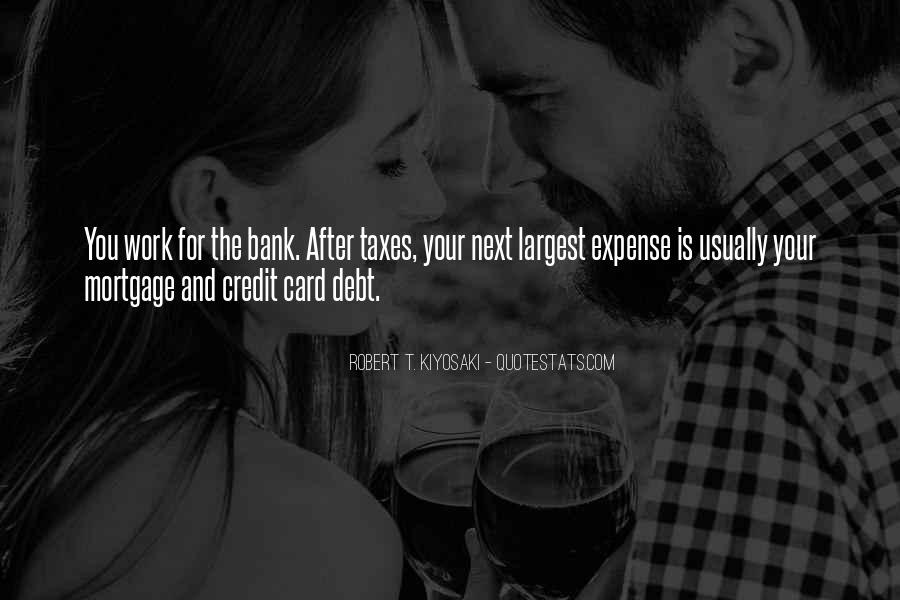 Quotes About Credit And Debt #537153
