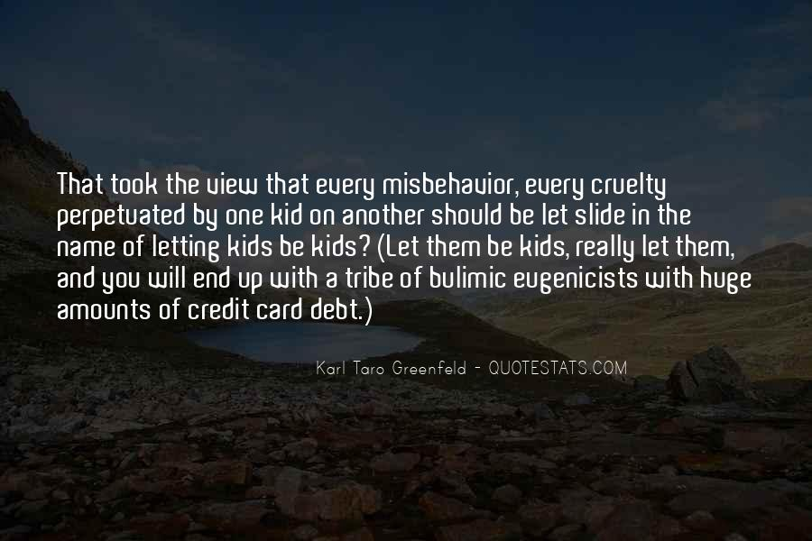 Quotes About Credit And Debt #602175