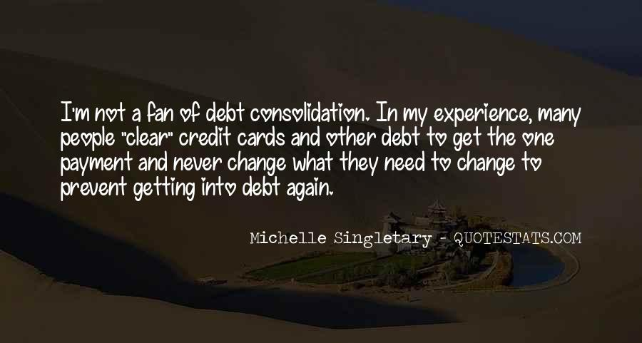 Quotes About Credit And Debt #646201