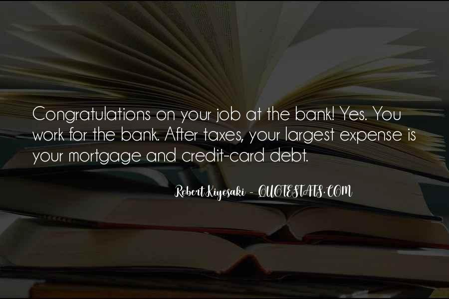 Quotes About Credit And Debt #839437