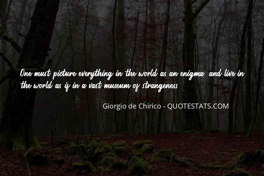 Quotes About Strangeness #109489