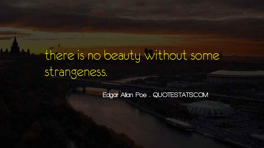 Quotes About Strangeness #15448