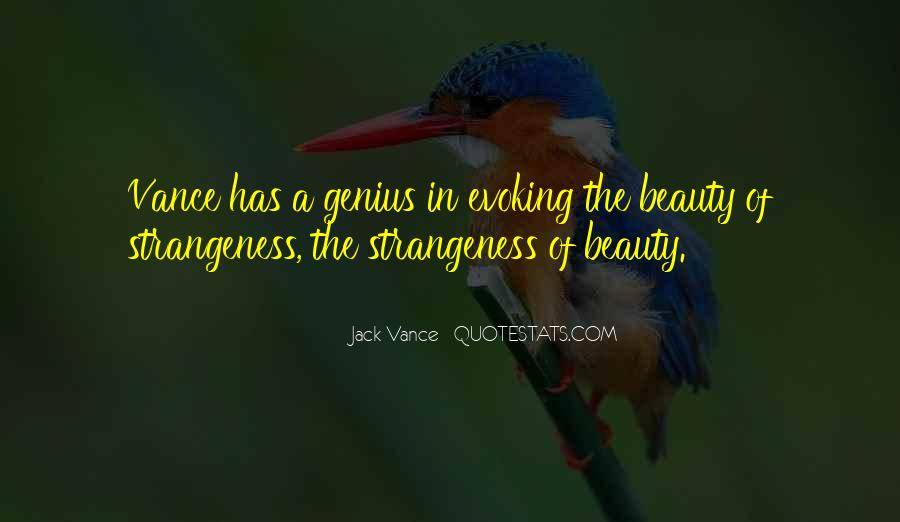 Quotes About Strangeness #172