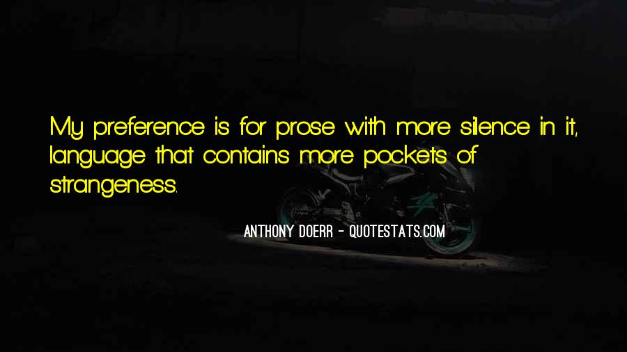 Quotes About Strangeness #17622