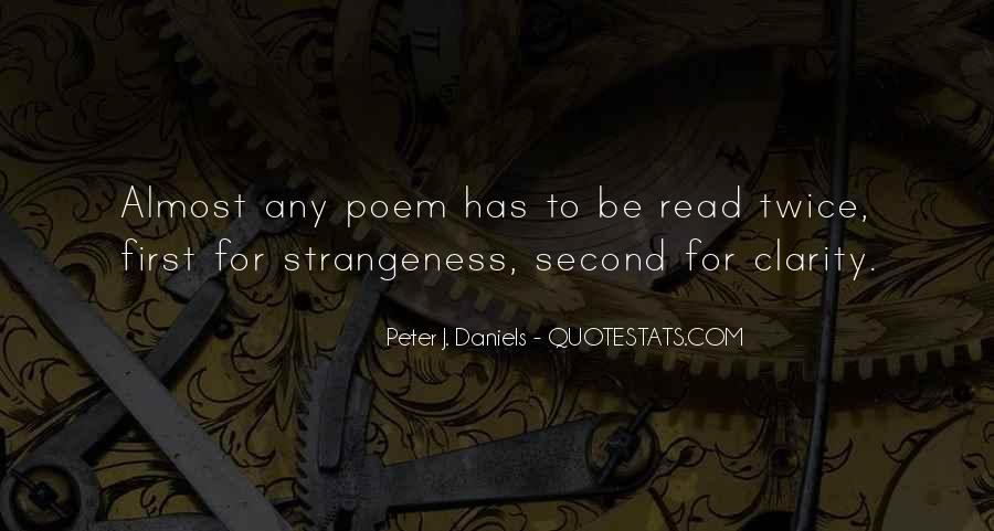 Quotes About Strangeness #190405