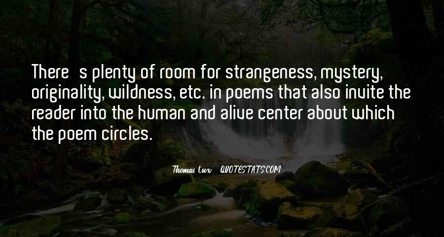 Quotes About Strangeness #196635