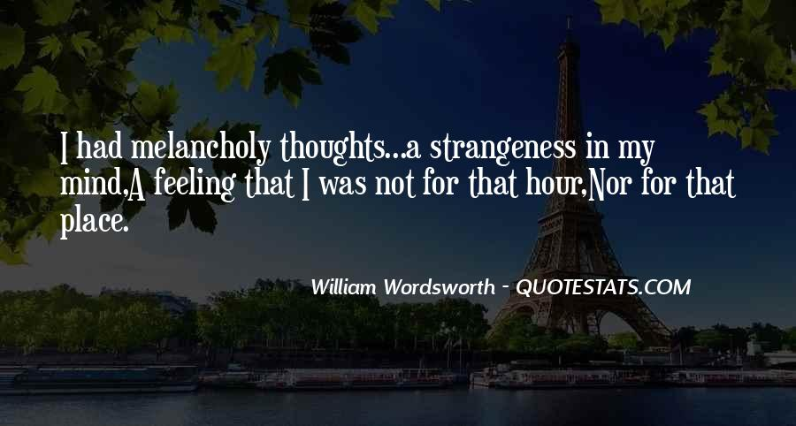Quotes About Strangeness #322435