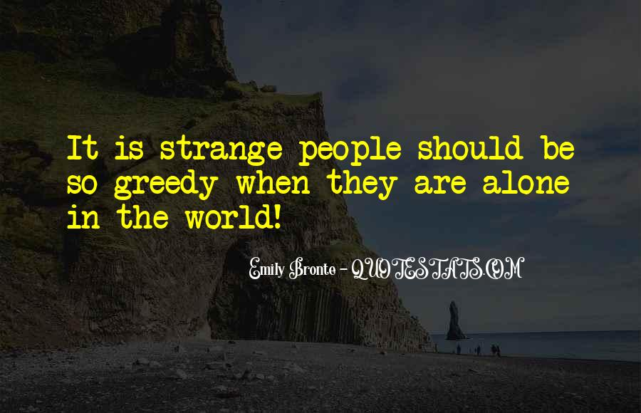Quotes About Strangeness #368908