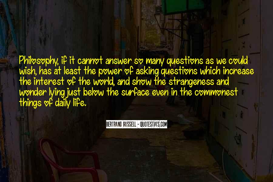 Quotes About Strangeness #385542