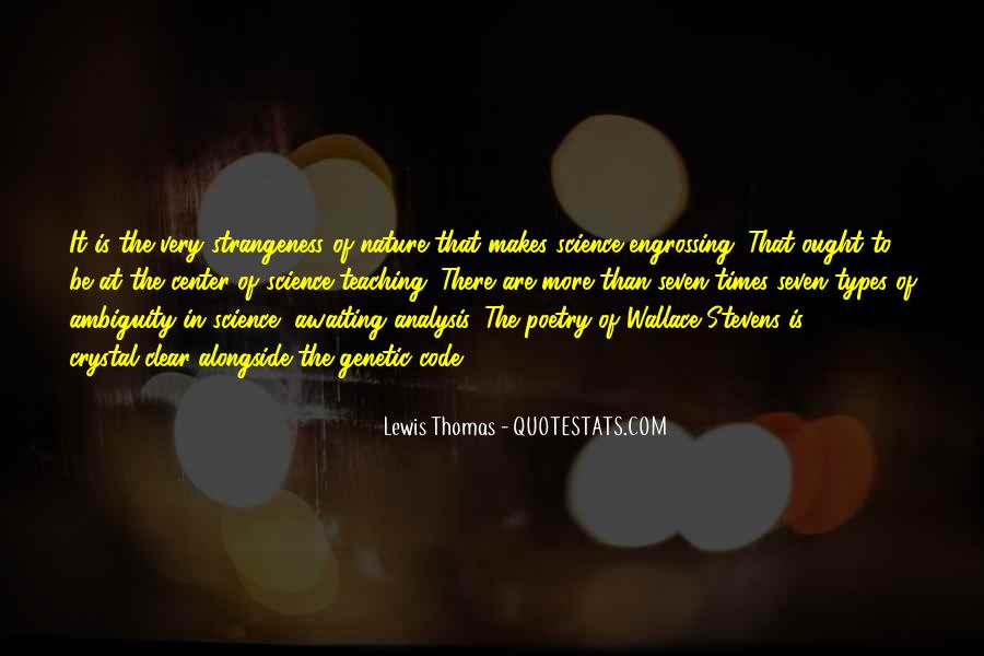 Quotes About Strangeness #435046
