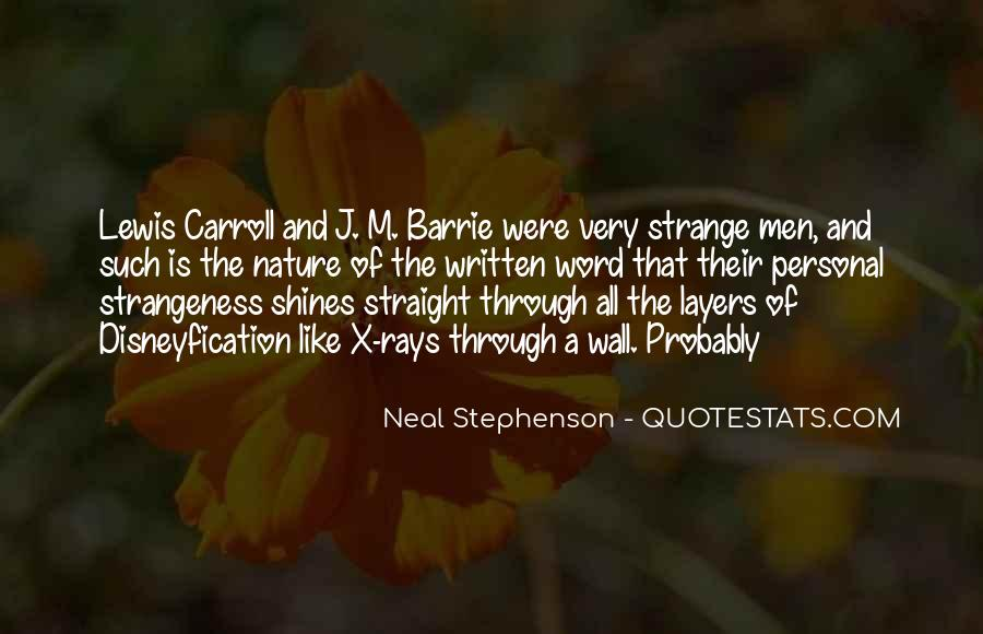 Quotes About Strangeness #448511