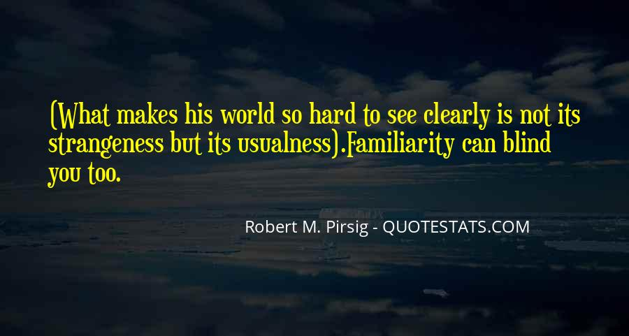Quotes About Strangeness #470918