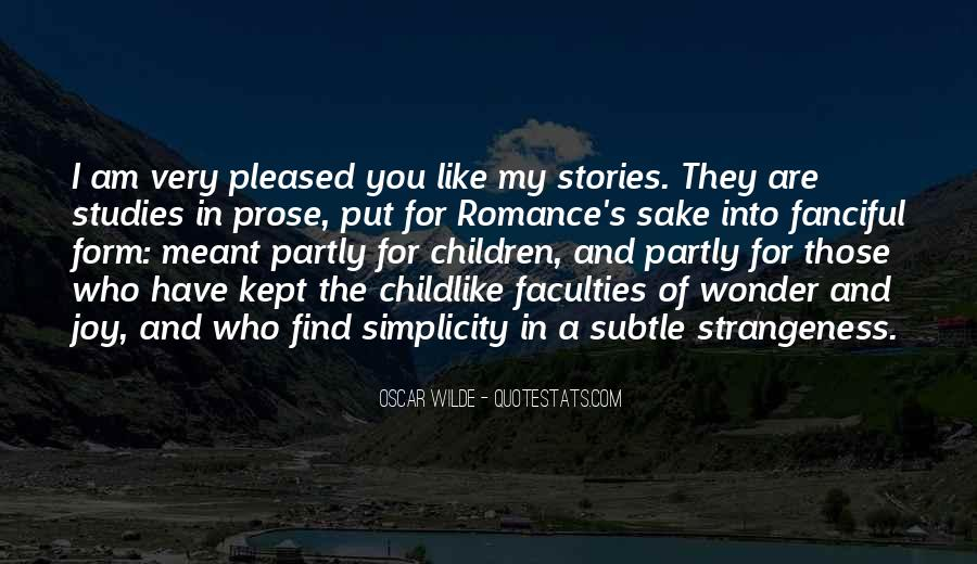 Quotes About Strangeness #505161