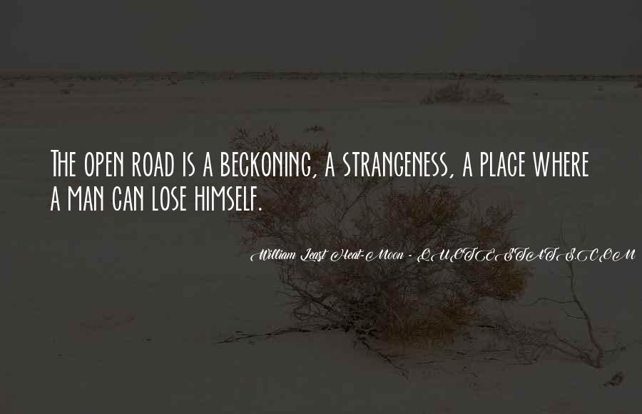 Quotes About Strangeness #586289