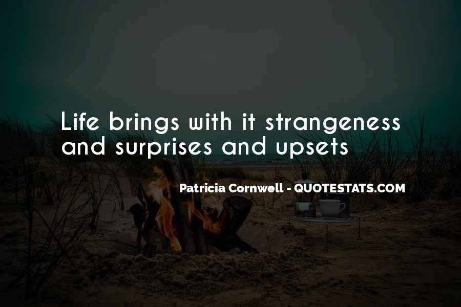 Quotes About Strangeness #586995