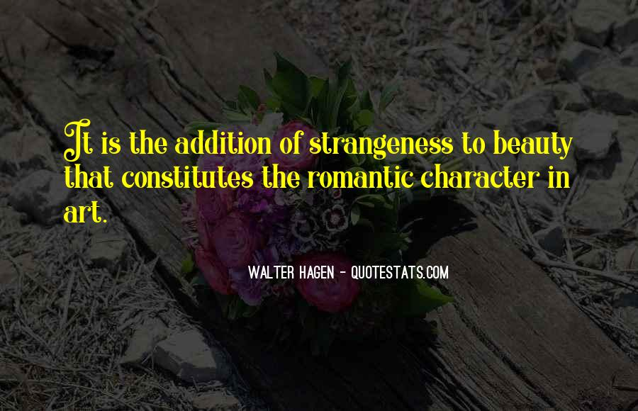 Quotes About Strangeness #657356