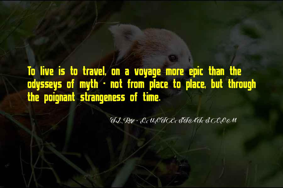 Quotes About Strangeness #73208