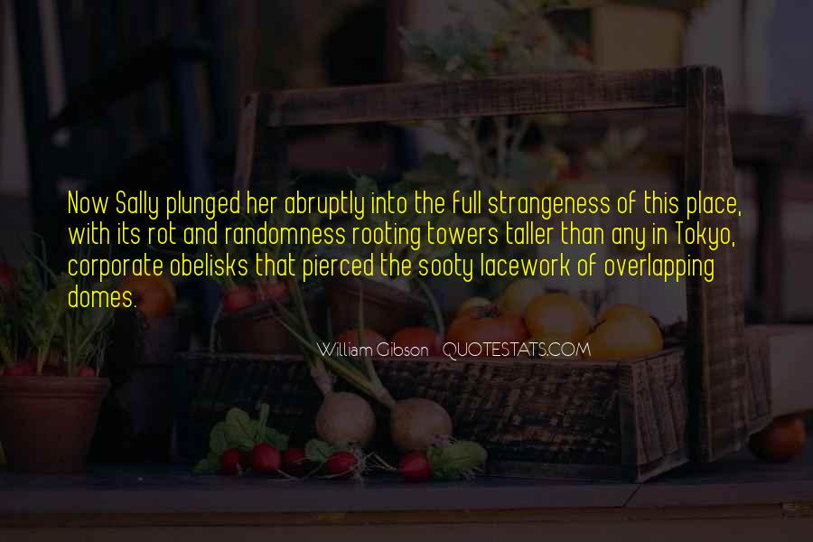 Quotes About Strangeness #759860