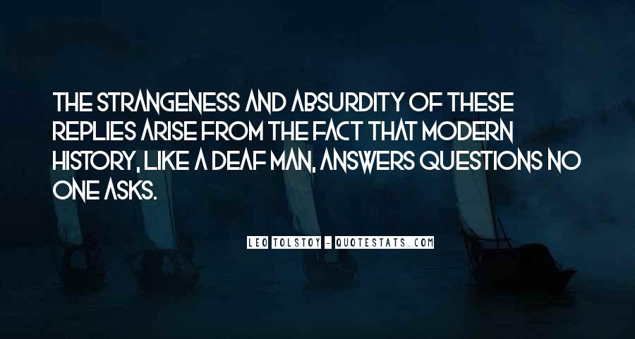 Quotes About Strangeness #794153