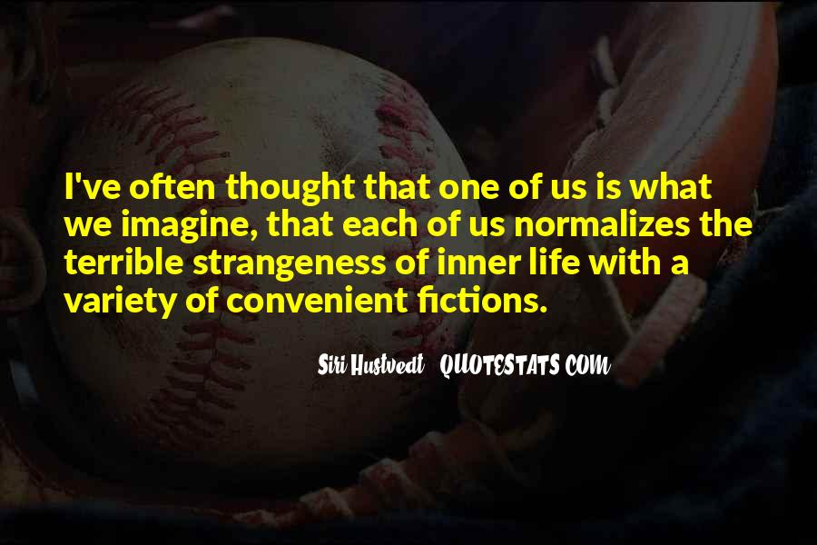 Quotes About Strangeness #870202