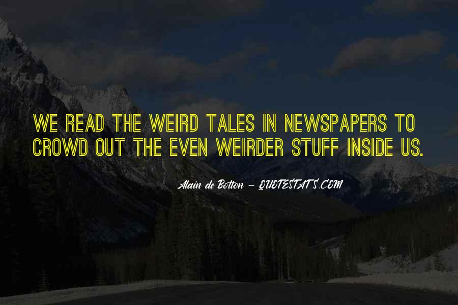 Quotes About Strangeness #924328