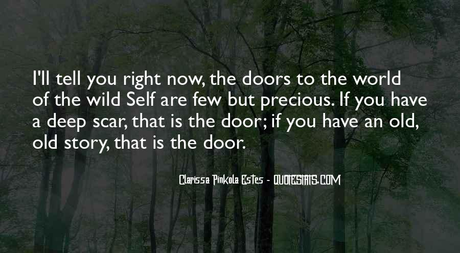 Quotes About Old Doors #1267071