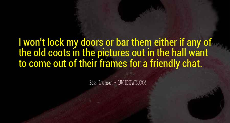 Quotes About Old Doors #1640378