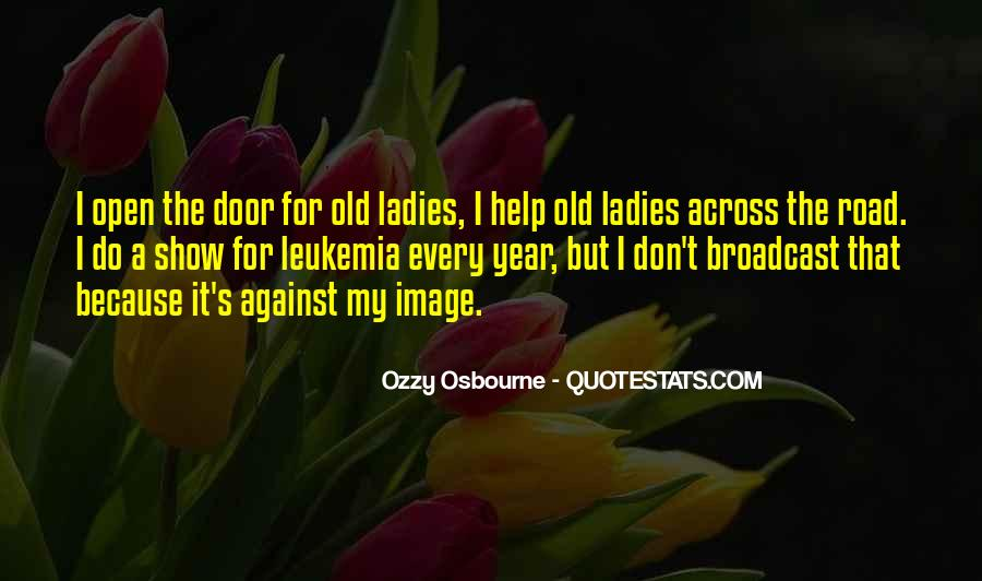 Quotes About Old Doors #266062