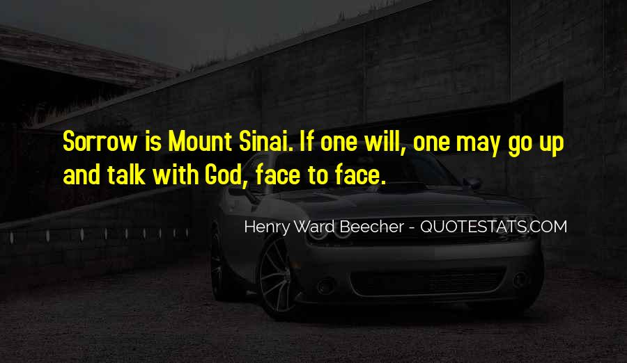 Quotes About Mount Sinai #1628084