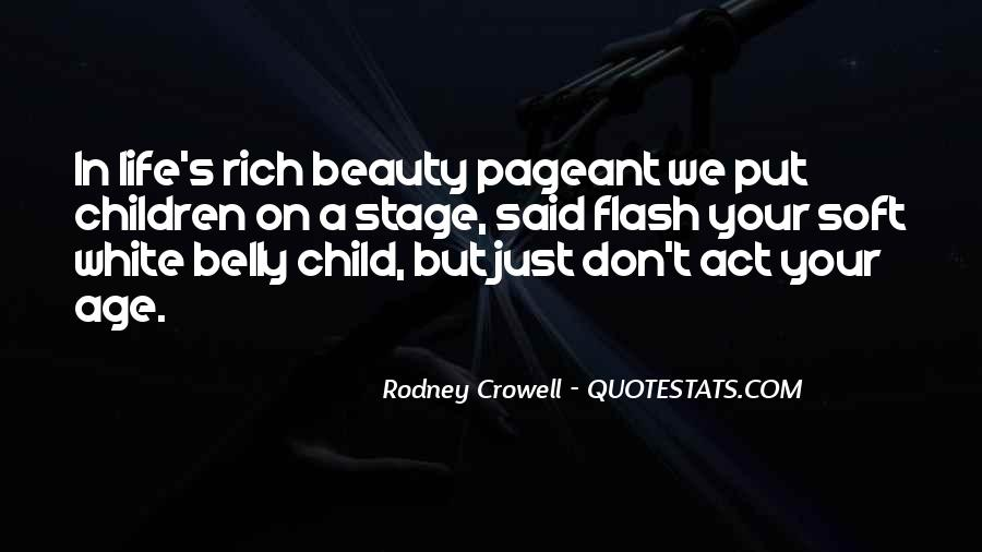 Quotes About Pageant #293050