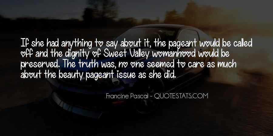 Quotes About Pageant #451664