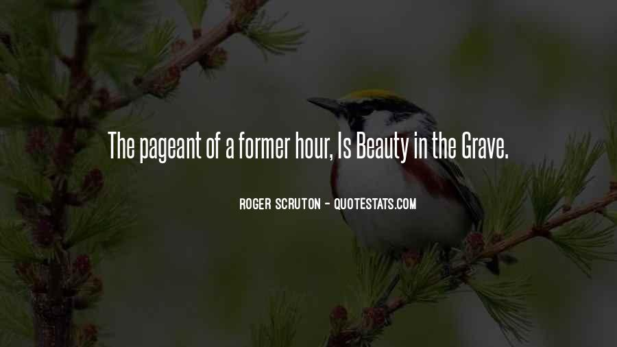 Quotes About Pageant #768992