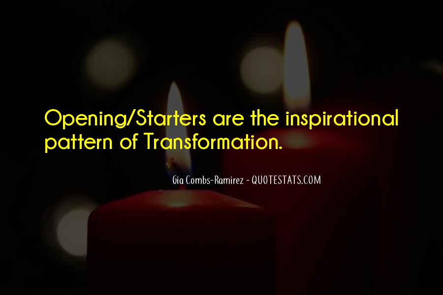 Quotes About Starters #1399554
