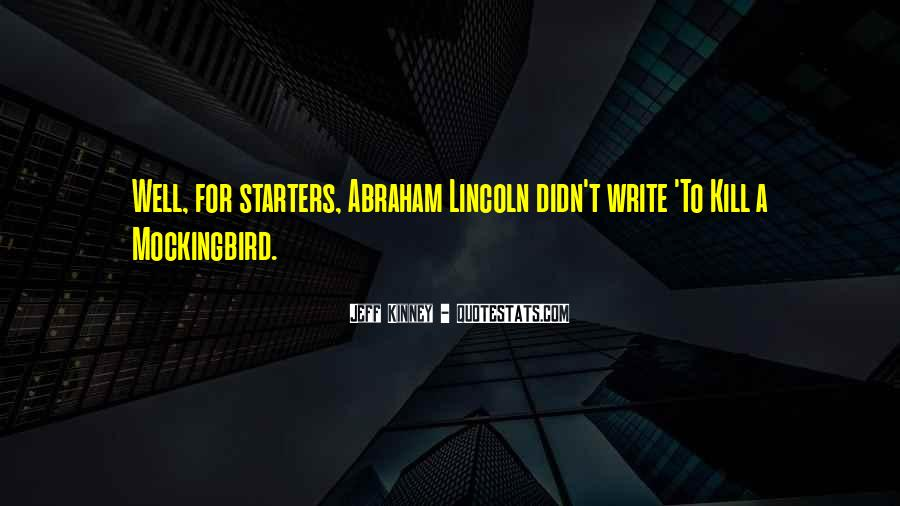 Quotes About Starters #1576892