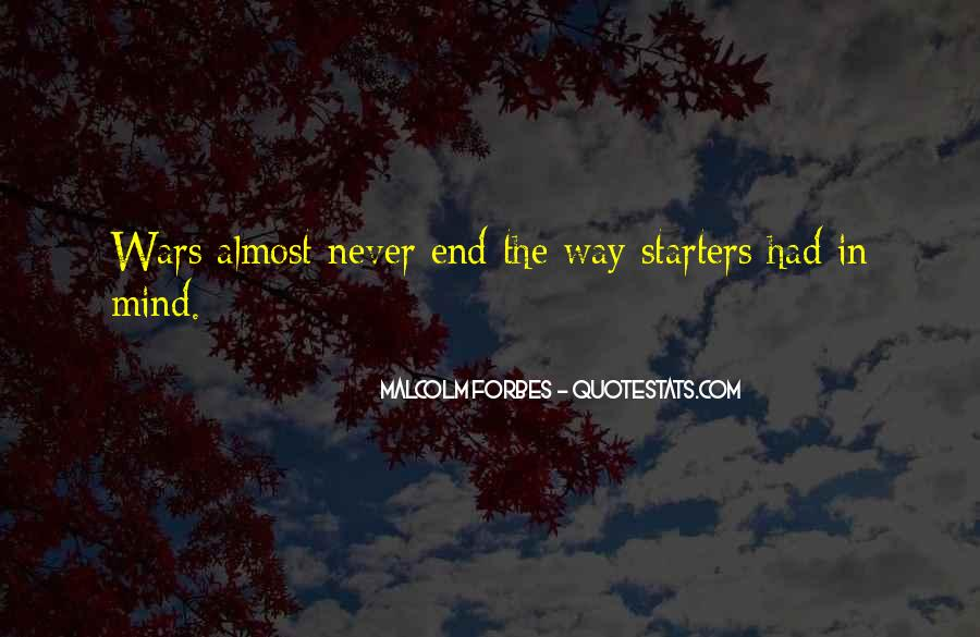 Quotes About Starters #734936