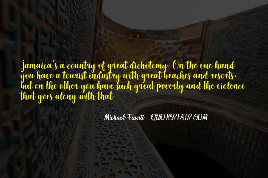 Quotes About Poverty And Violence #1287231