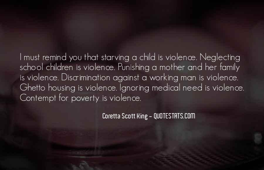 Quotes About Poverty And Violence #135712