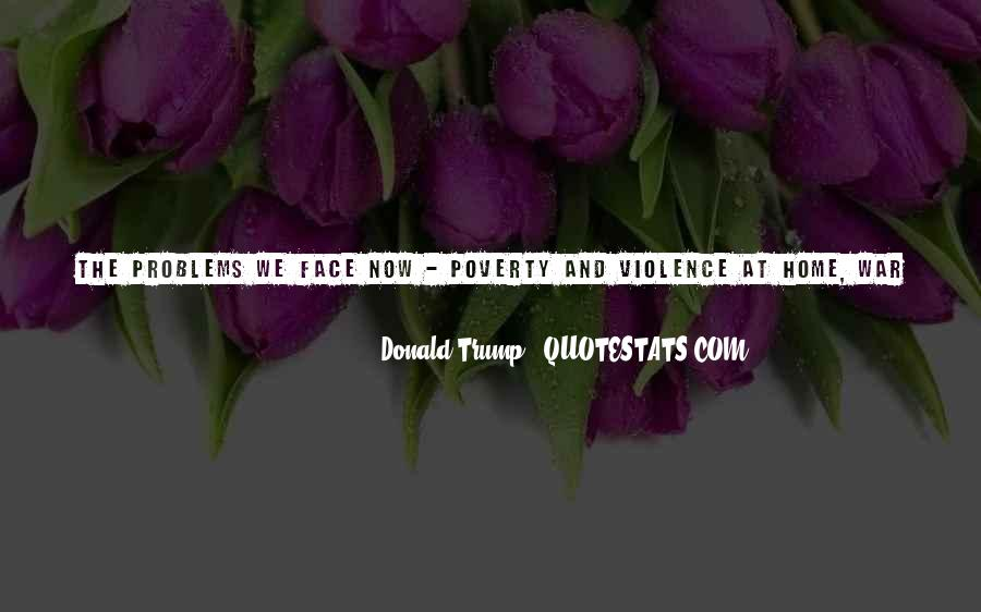 Quotes About Poverty And Violence #146888
