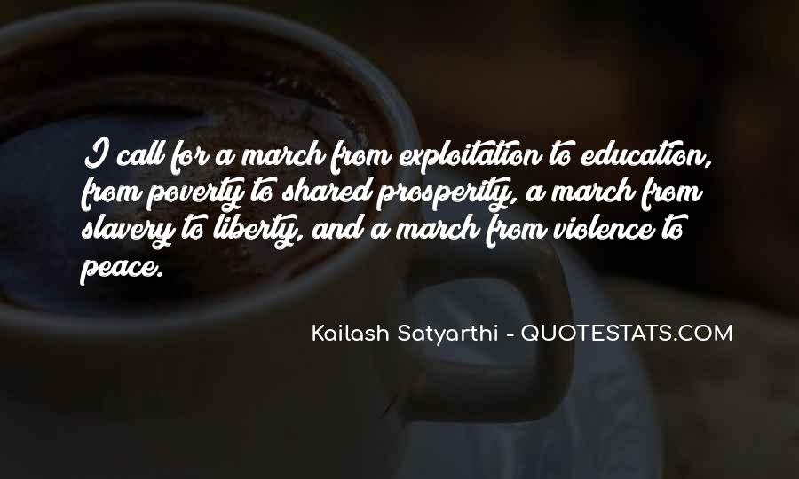 Quotes About Poverty And Violence #1546054