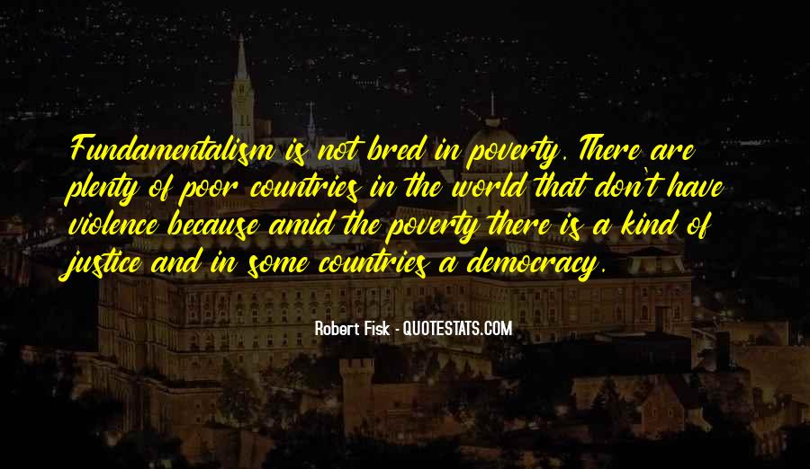 Quotes About Poverty And Violence #225291