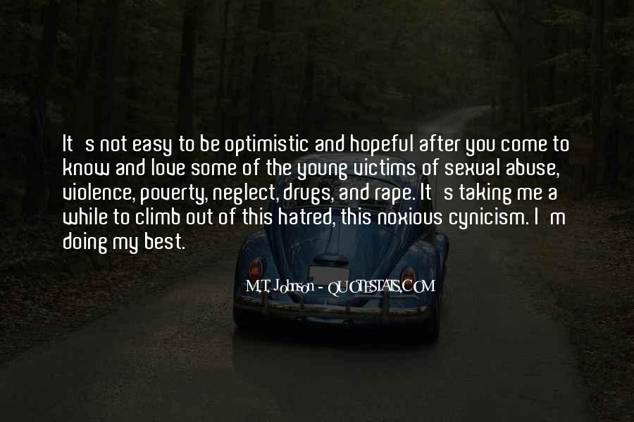 Quotes About Poverty And Violence #243312