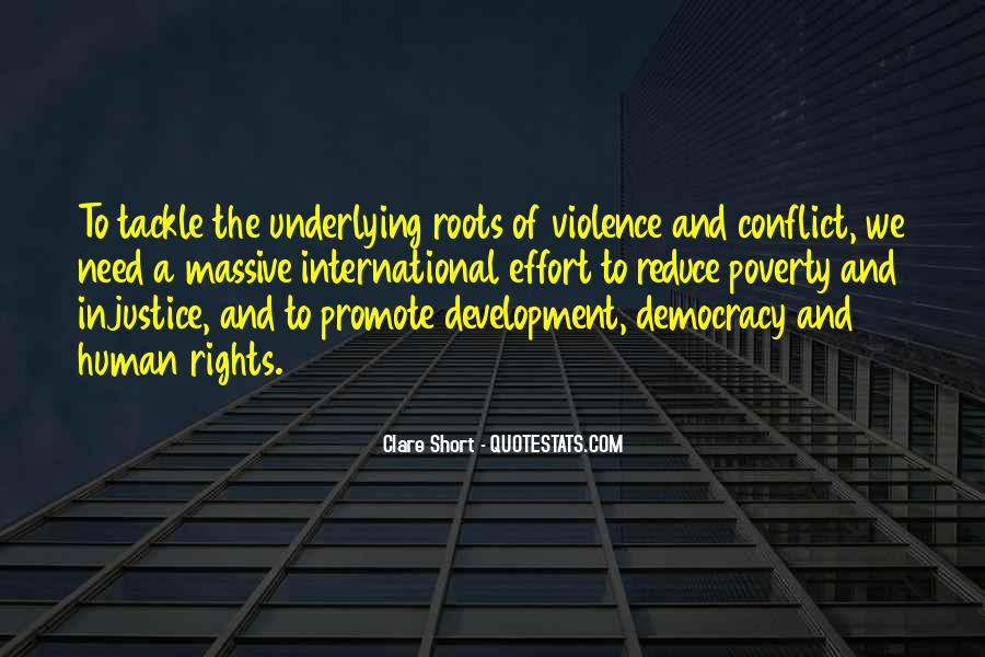 Quotes About Poverty And Violence #264671