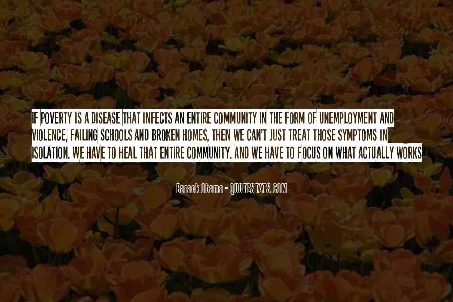Quotes About Poverty And Violence #290472